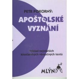 Apoštolské vyznání - Petr Pokorný