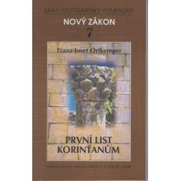 Nový zákon 7 - První list Korinťanům - Franz J. Ortkemper