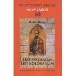 Nový zákon 10 - List Efezanům, List Kolosanům - Rudolf Hoppe