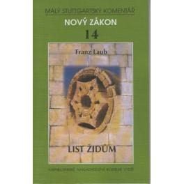 Nový zákon 14 - List Židům - Franz. Laub