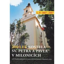 200 let  kostela sv. Petra a Pavla v Milonicích