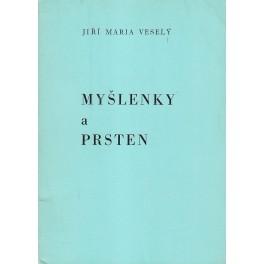 Myšlenky a prsten - Jiří Maria Veselý (modrá)