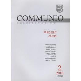 Communio 2010/2 - Přirozený zákon