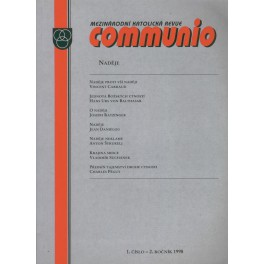 Communio 1998/1 - Naděje